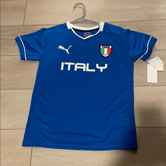 Italy Soccer Jersey - Youth